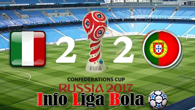 Hasil Piala Konfederasi : Portugal Ditahan Imbang 2 - 2 Oleh Meksiko
