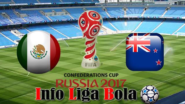 Bursa Taruhan Meksiko vs Selandia Baru 22 Juni 2017