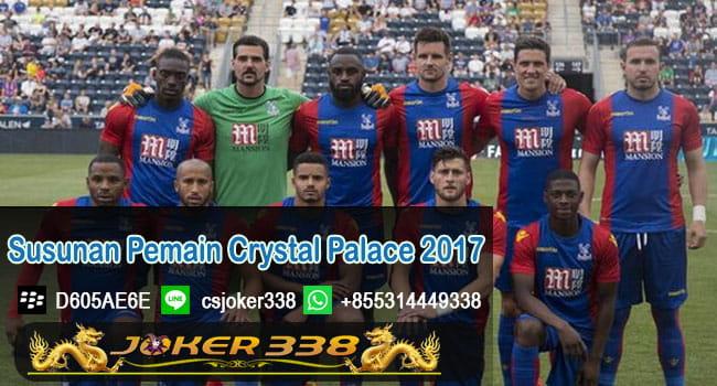 Susunan Pemain Crystal Palace 2017