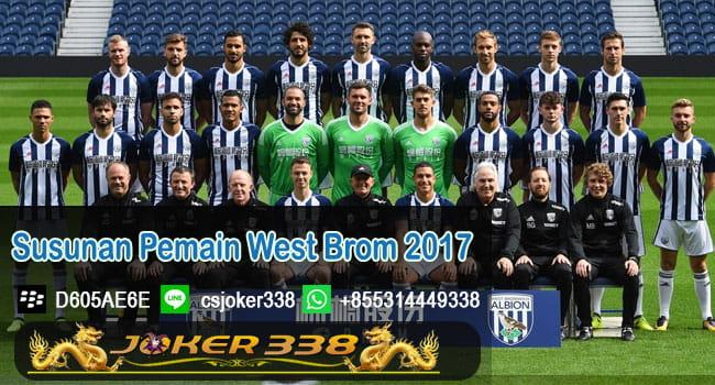 Susunan Pemain West Brom 2017