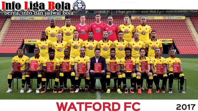 Susunan Pemain Watford FC 2017-2018