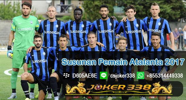 Susanan Pemain Atalanta 2017-2018