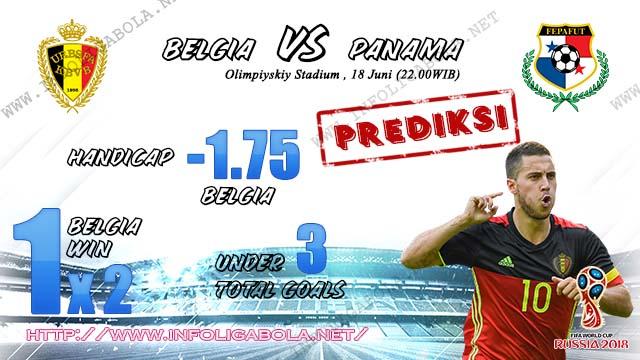 Prediksi Bola Piala Dunia Belgia VS Panama 18 Juni 2018
