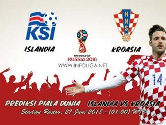 Prediksi Bola Piala Dunia Islandia VS Kroasia 27 Juni 2018