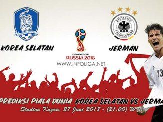 Prediksi Bola Piala Dunia Korea Selatan VS Jerman 27 Juni 2018