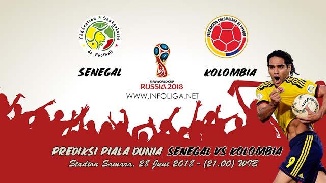 Prediksi Bola Piala Dunia Senegal VS Kolombia 28 Juni 2018