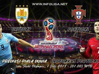Prediksi Bola Piala Dunia Uruguay VS Portugal 1 Juli 2018