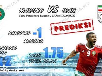 Prediksi Maroko VS Iran, 15 Juni 2018