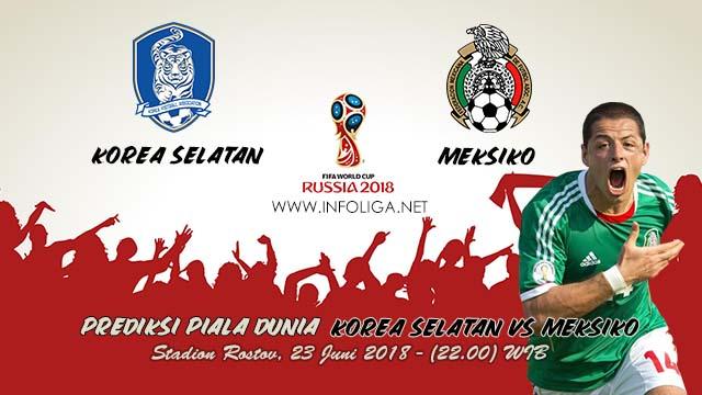 Prediksi Piala Dunia Korea Selatan VS Meksiko 23 Juni 2018