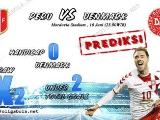 Prediksi Piala Dunia Peru VS Denmark, 16 Juni 2018