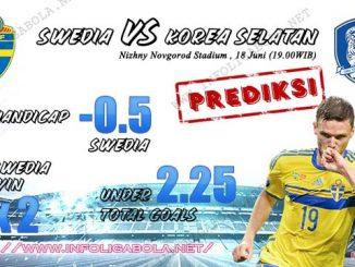 Prediksi Piala Dunia Swedia VS Korea Selatan 18 Juni 2018