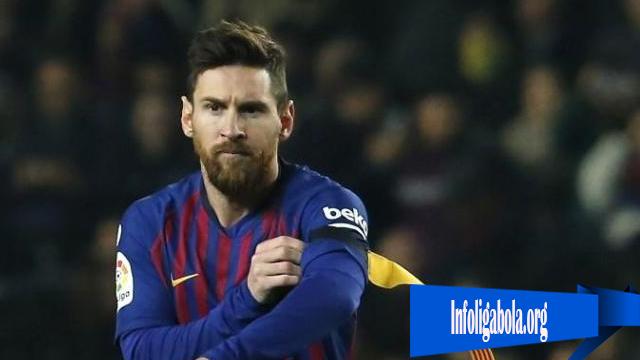Lionel Messi Marah Besar