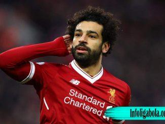 Mohamed Salah Striker Dari Team Liverpool Berjanji