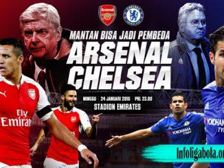 Sebentar Lagi Pertemuan Chelsea Dan Arsenal