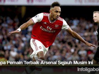 Beberapa Pemain Terbaik Arsenal Sejauh Musim Ini
