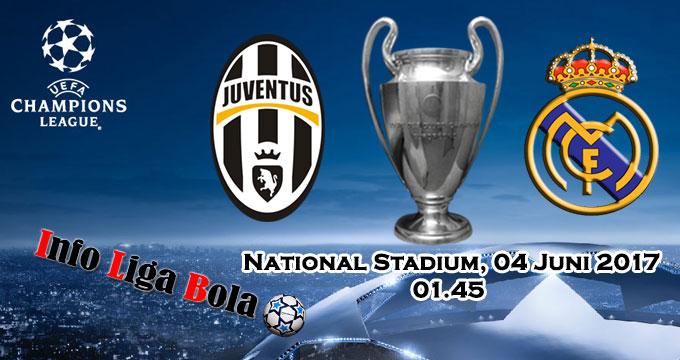 Pasaran Bola Juventus vs Real Madrid 04 Juni 2017