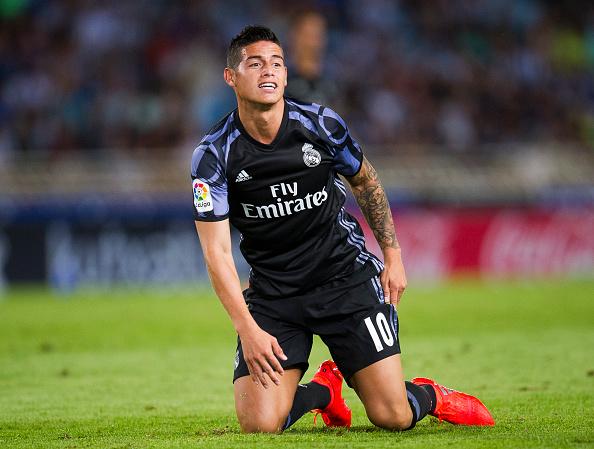 Legenda Madrid Perduli Terhadap Nasib Yang Dialami James Rodriguez