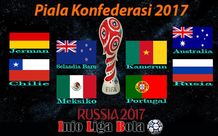 Jadwal Dan Pembagian Fase Group Piala Konfederasi 2017