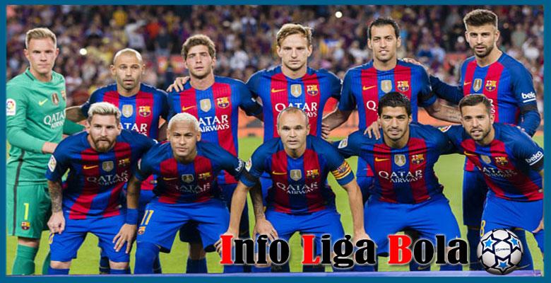 Daftar Susunan Pemain Barcelona 2017-2018