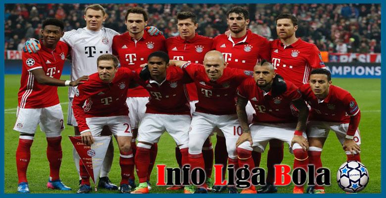 Daftar Susunan Pemain Bayern Munchen 2017-2018