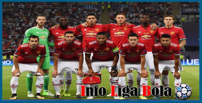 Susunan Pemain Manchester United Musim 2017/2018