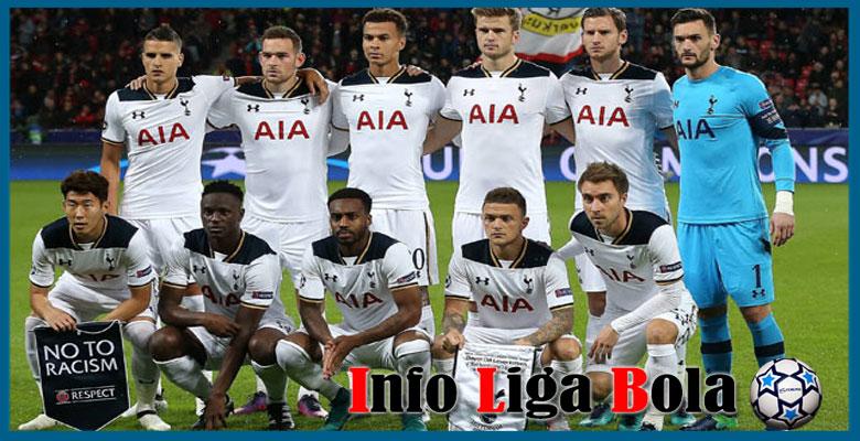 Daftar Susunan Pemain Tottenham 2017-2018