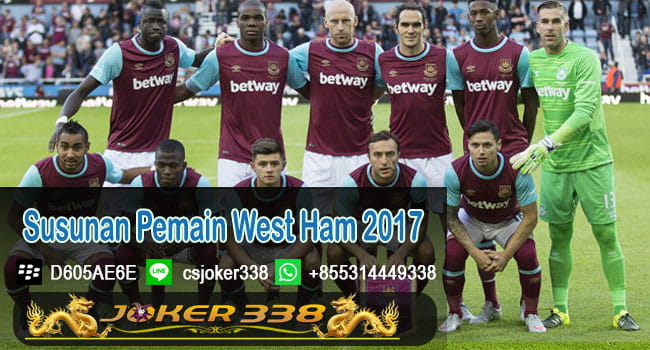 Susunan Pemain West Ham 2017
