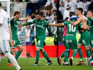 Real Madrid Dipermalukan Di Santiago Bernabeu