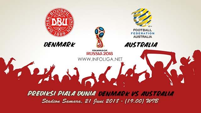 Prediksi Bola Piala Dunia Denmark VS Australia 21 Juni 2018