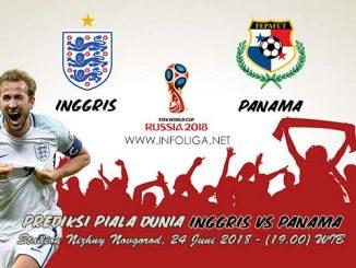 Prediksi Bola Piala Dunia Inggris VS Panama 24 Juni 2018