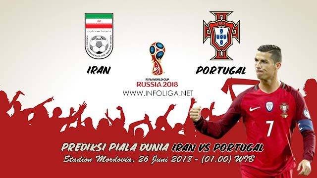 Prediksi Bola Piala Dunia Iran VS Portugal 26 Juni 2018