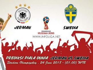 Prediksi Bola Piala Dunia Jerman VS Swedia 24 Juni 2018