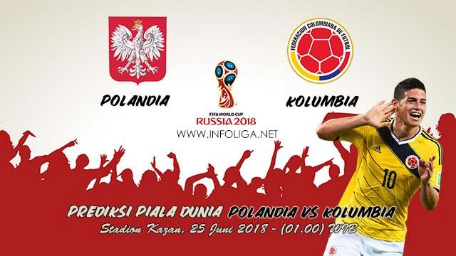 Prediksi Bola Piala Dunia Polandia VS Kolumbia 25 Juni 2018