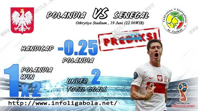 Prediksi Bola Piala Dunia Polandia VS Senegal 19 Juni 2018