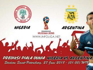 Prediksi Piala Dunia Nigeria VS Argentina 27 Juni 2018