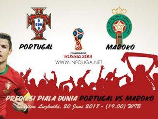 Prediksi Piala Dunia Portugal VS Maroko 20 Juni 2018