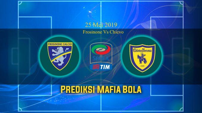 Prediksi Bola Frosinone Vs Chievo 25 Mei 2019