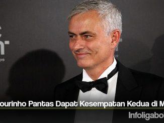 Jose Mourinho Pantas Dapat Kesempatan Kedua di MU