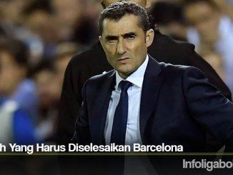 Masalah Yang Harus Diselesaikan Barcelona
